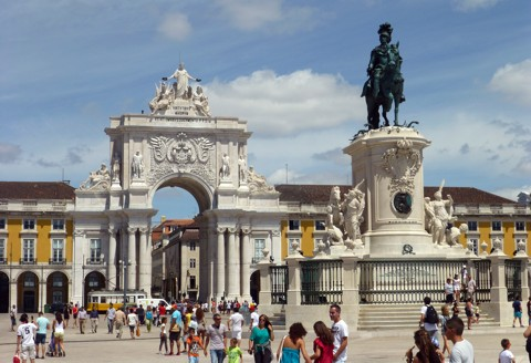 Lissabon - Praça do Comércio
