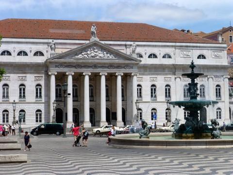 Lissabon - Teatro Nacional D Maria