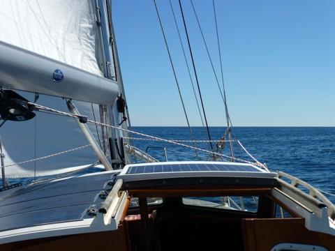 ruhiges Atlantik-Segeln