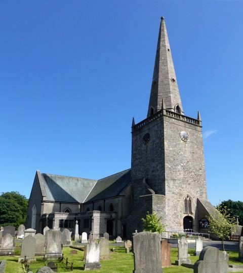 Bangor - Abbey Church
