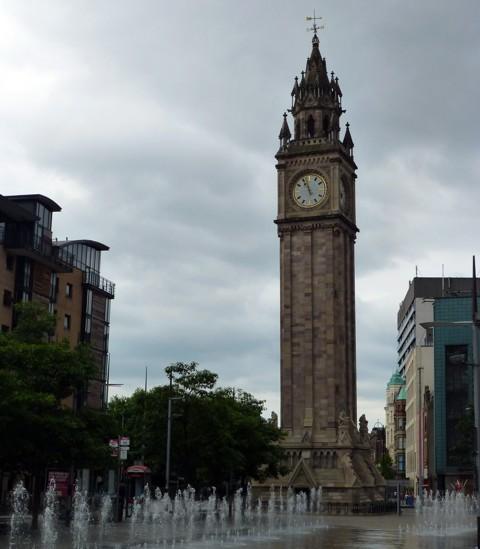 Belfast - Albert Clock