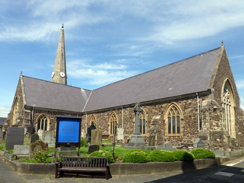 Carrickfergus - Saint Nicholas Church
