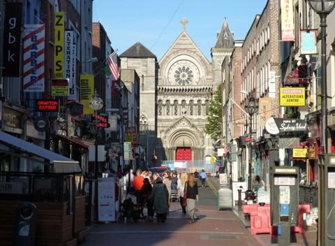 Dublin - Anne Street South und St-Ann-s