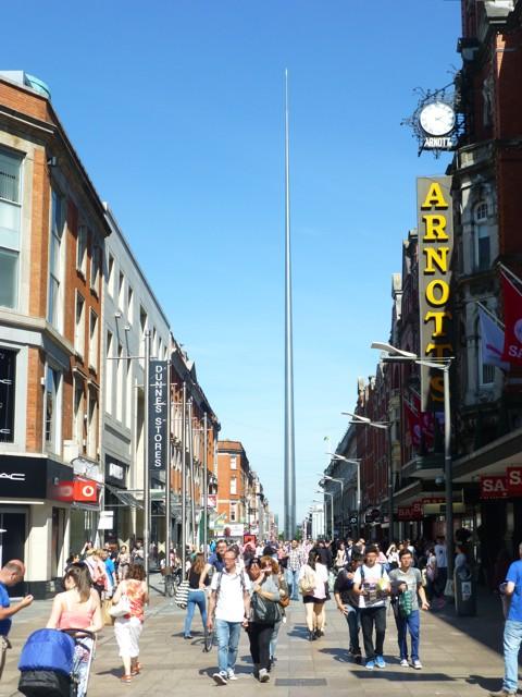 Dublin - Henry Street and The Spire