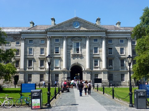 Dublin - Trinity College - Westeingang
