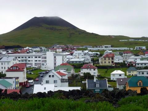 Westmännerinsel Heimaey - Vulkan Helgafell