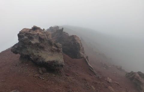 Kraterrand Vulkan Eldfell