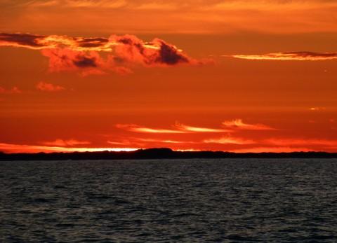 Sonnenuntergang Skagen Odde