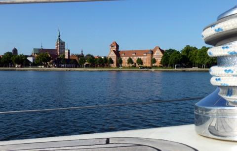 Ankern vor Stralsund
