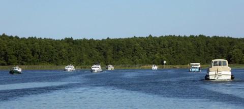 Sommer - Seenplatte
