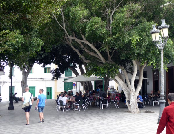 Plaza León y Castillo