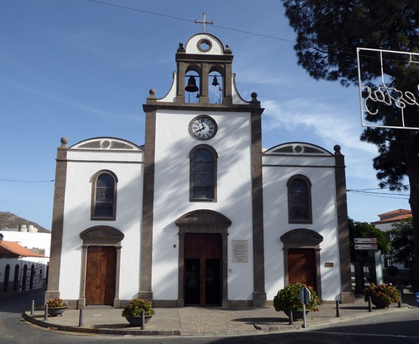 Kirche - San Bartolomé de Tirajana - Tunte