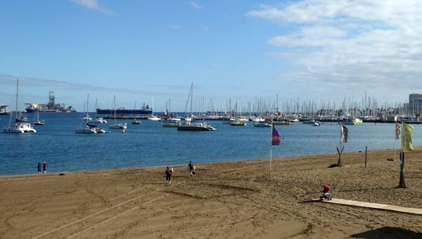 Las Palmas de Gran Canaria - Ankerplatz