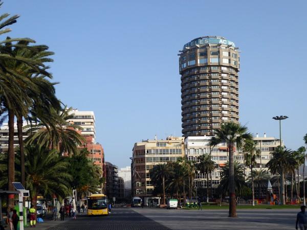 Las Palmas, Plaza Santa Catalina