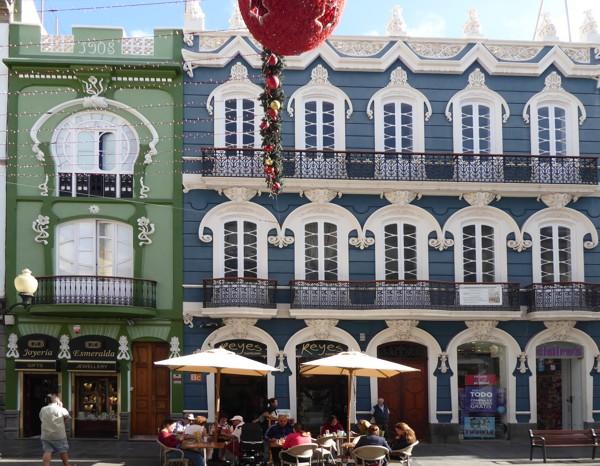 Las Palmas - Triana Fassaden