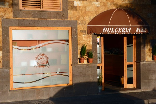Bäckerei Dulceria Nublo in Tejeda