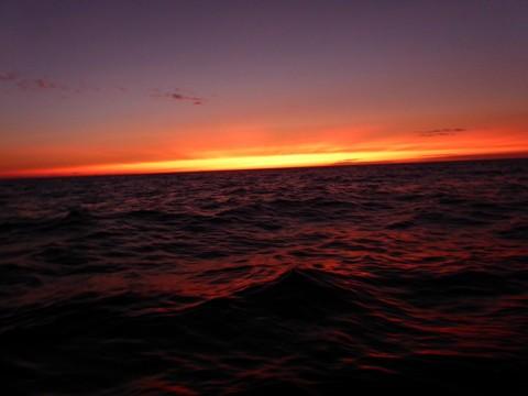 Biscaya Sonnenuntergang