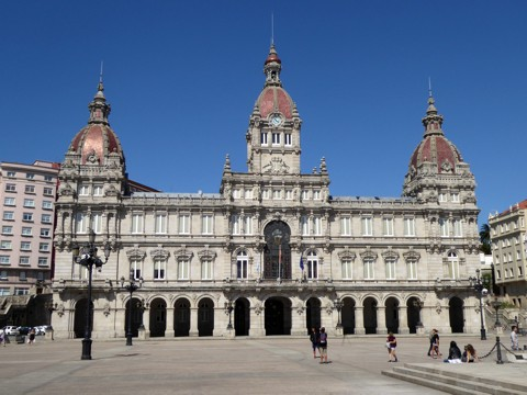 Rathaus - La-Coruna