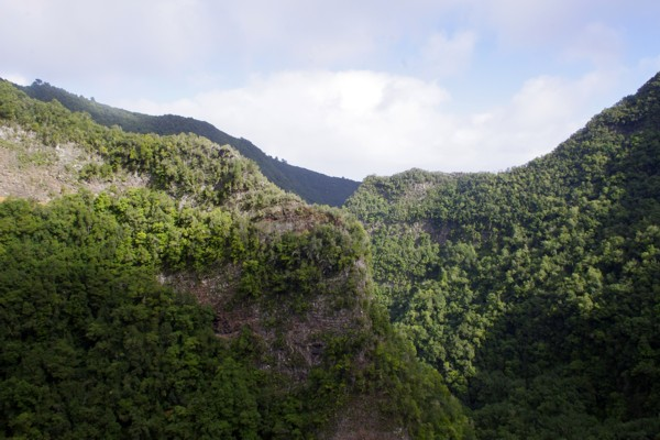 La Palma - Gebirgsketten u Schluchten