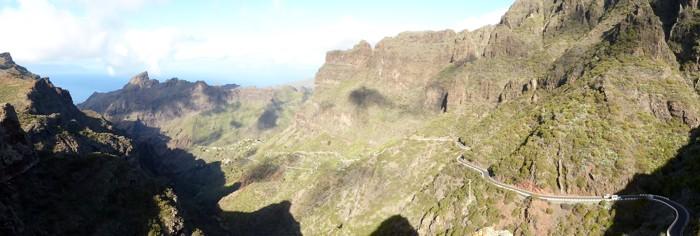 Berge bei Masca