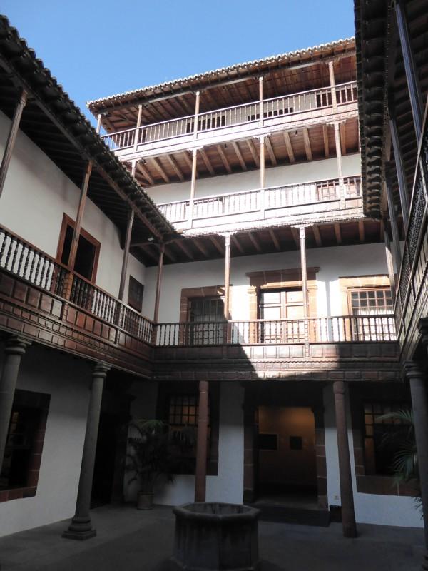 Innenhof Casa Principal de Salazar
