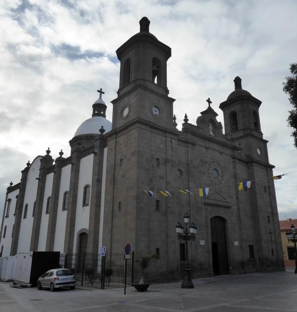 Kirche San Sebastián in Agüimes