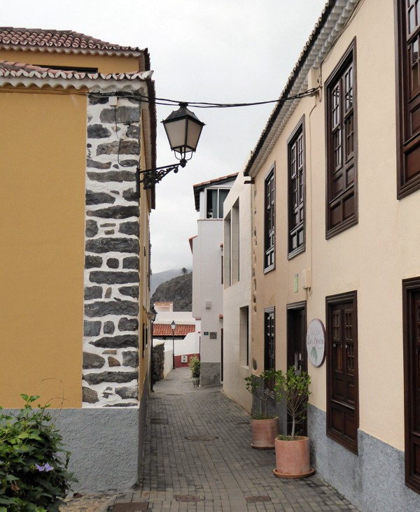 Gasse in Agulo