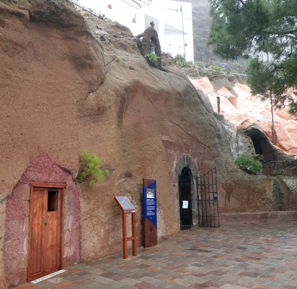 Artenara, Höhlenkapelle