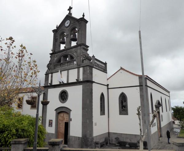 Firgas, Kirche San Roque