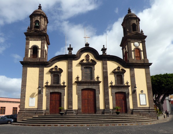 Gemeindekirche, Pfarrkirche in Santa María de Guía