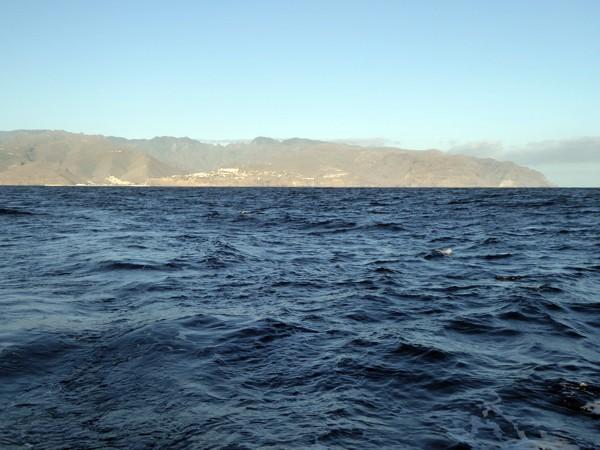 San Sebastián und La Gomera im Kielwasser