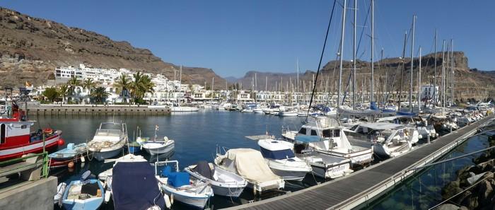 Hafen, Marina von Puerto de Mogán