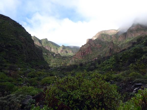 Schlucht Guayadeque auf Gran Canaria