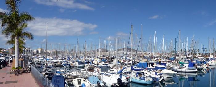 Yachthafen in Las Palmas de Gran Canaria