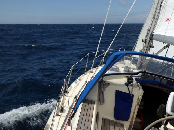 Segeln Portugal Küste nach Norden