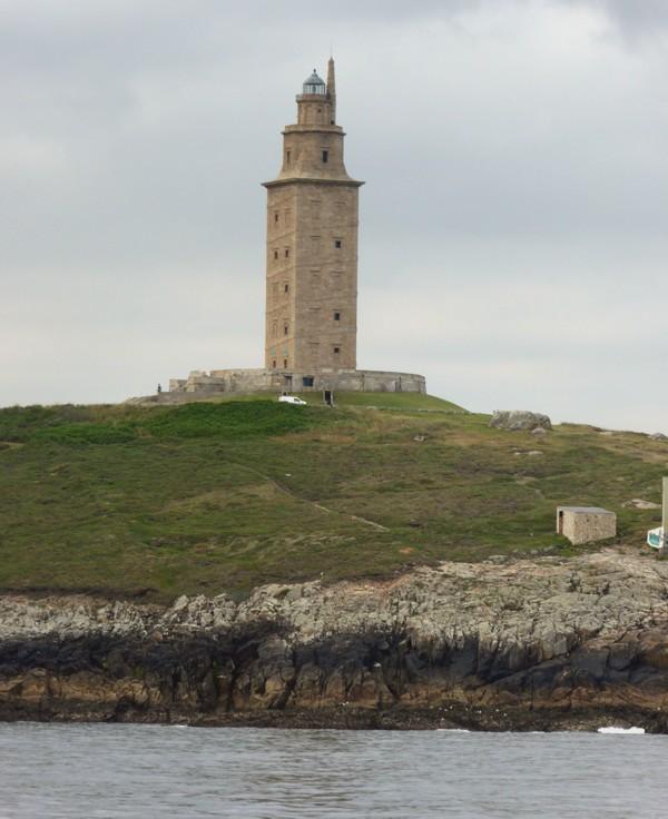 römischer Leuchtturm in La Coruna