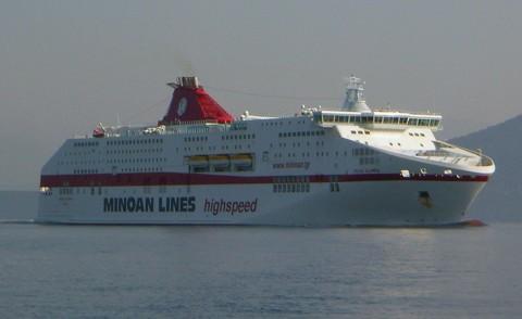 Fährschiff Cruise Olympia