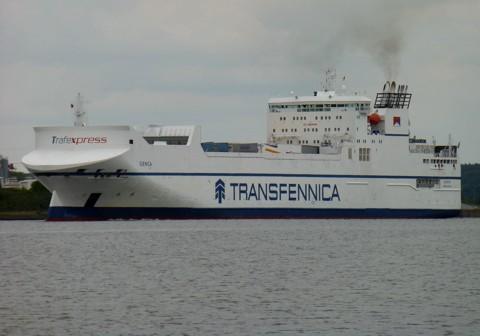 Fährschiff Genca