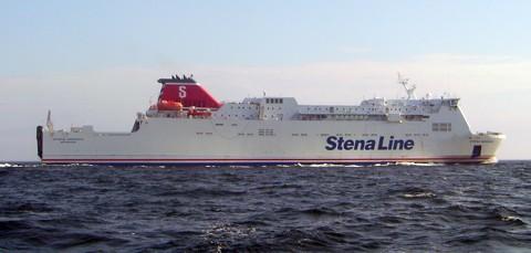 Stena Nordica auf der Ostsee