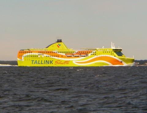 Fähre Superstar, Tallink Shuttle