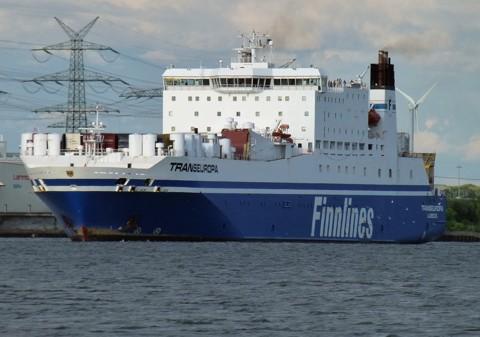 Fährschiff Transeuropa