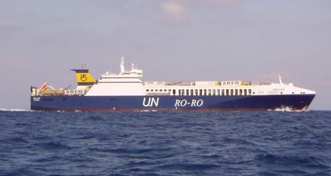 Fährschiff UND EGE