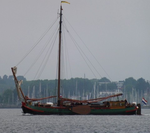 De Albertha - Seetjalk / Plattbodenschiff