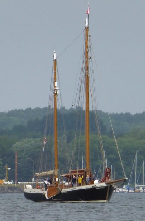 Franzius - Weserkahn, Plattbodenschiff