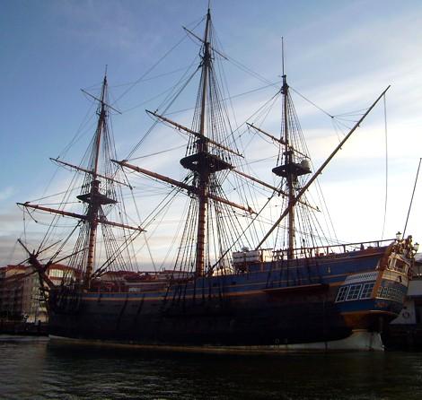 Götheborg - Schiff, Nachbau