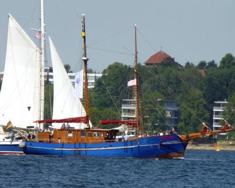 Gotland - Kriegsfischkutter, Gaffelschoner