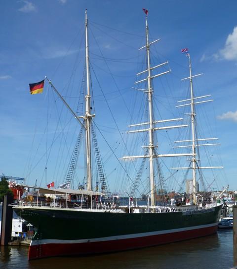 Rickmer Rickmers, Hamburg