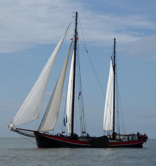 Plattbodenschiff Klipper Aegir