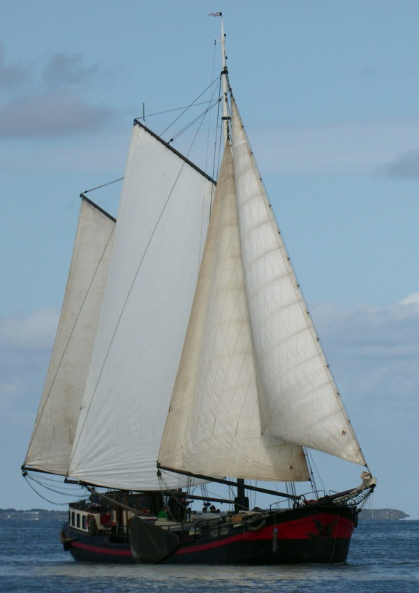 Plattbodenschiff Anna
