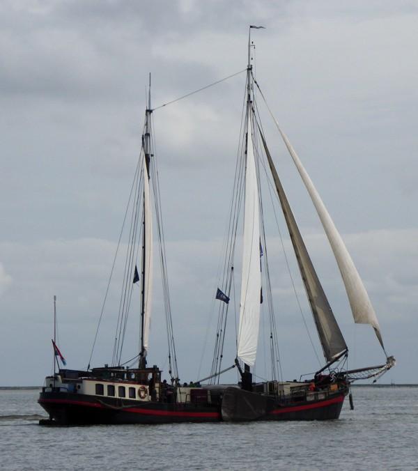 Plattbodenschiff Klipper Anna